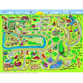 Land of Music® Map Poster (Laminated)
